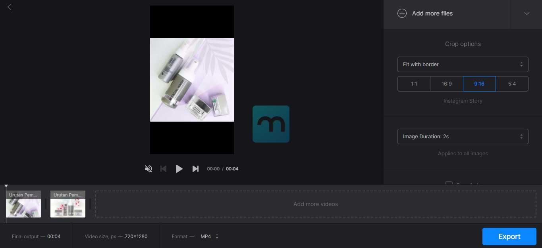menggabungkan video online