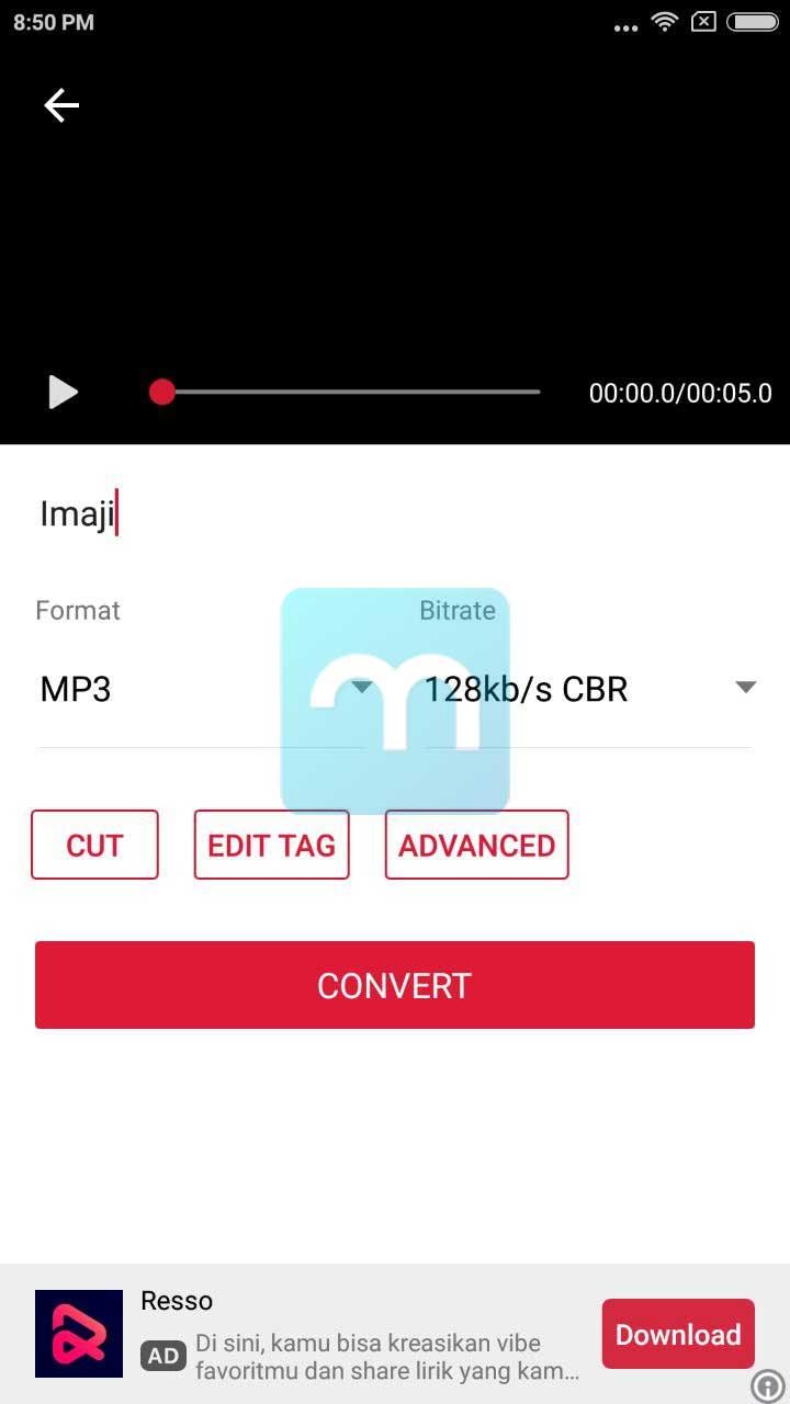 Convert Video ke Mp3 di Android